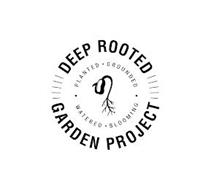 DEEP ROOTED GARDEN PROJECT PLANTED GROUNDED WATERED BLOOMING