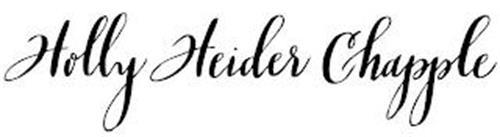 HOLLY HEIDER CHAPPLE