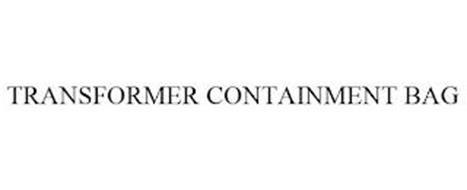 TRANSFORMER CONTAINMENT BAG