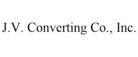 J.V. CONVERTING CO., INC.