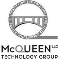 Q IDENTIFYING THE SOLUTIONS FOR YOUR OPERATIONAL FUTURE MCQUEEN LLC TECHNOLOGY GROUP