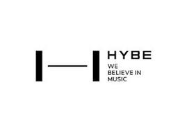 HYBE WE BELIEVE IN MUSIC
