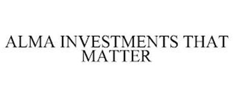 ALMA INVESTMENTS THAT MATTER