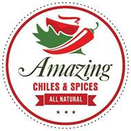 AMAZING CHILES & SPICES ALL NATURAL
