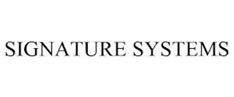 SIGNATURE SYSTEMS