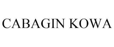CABAGIN KOWA