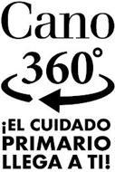 CANO 360° ¡EL CUIDADO PRIMARIO LLEGA A TI!