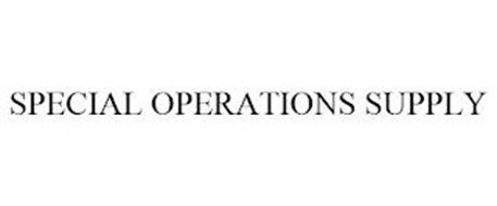 SPECIAL OPERATIONS SUPPLY