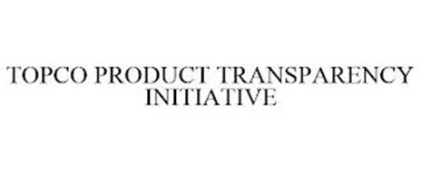 TOPCO PRODUCT TRANSPARENCY INITIATIVE