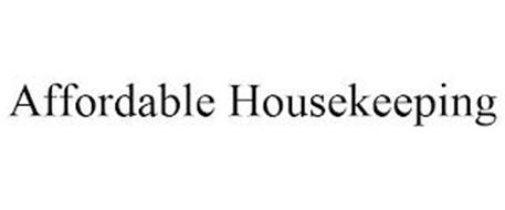 AFFORDABLE HOUSEKEEPING