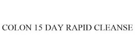 COLON 15 DAY RAPID CLEANSE
