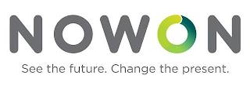 NOWON SEE THE FUTURE. CHANGE THE PRESENT.