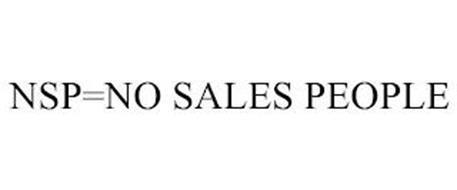 NSP=NO SALES PEOPLE