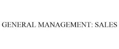 GENERAL MANAGEMENT: SALES