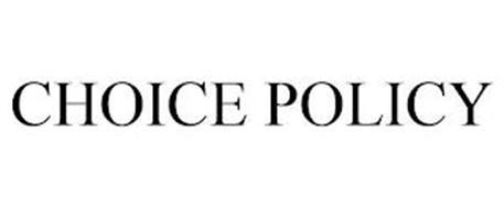 CHOICE POLICY