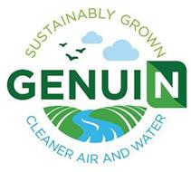 SUSTAINABLY GROWN GENUIN CLEANER AIR AND WATER
