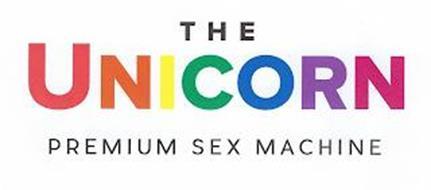 THE UNICORN PREMIUM SEX MACHINE