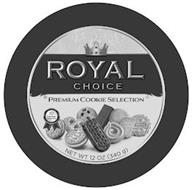 ROYAL CHOICE PREMIUM COOKIE SELECTION 10 COOKIE VARIETIES NET WT 12 OZ ( 340 G )
