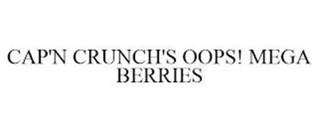 CAP'N CRUNCH'S OOPS! MEGA BERRIES