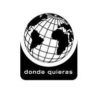 DONDE QUIERAS