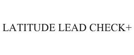 LATITUDE LEAD CHECK+