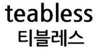 TEABLESS