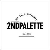 DAY DAILY DIFFERENCE 2NDPALETTE EST.2015