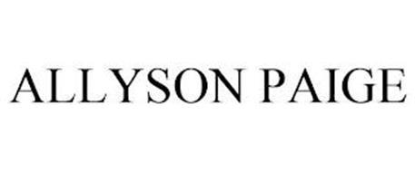 ALLYSON PAIGE
