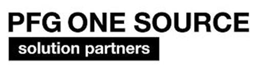 PFG ONE SOURCE SOLUTION PARTNERS