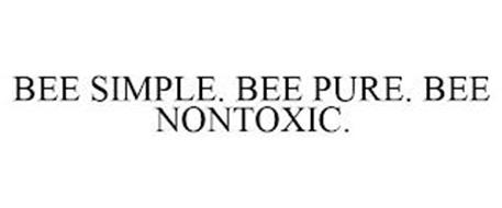 BEE SIMPLE. BEE PURE. BEE NONTOXIC.