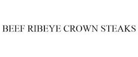 BEEF RIBEYE CROWN STEAKS