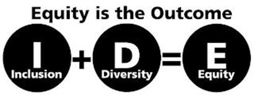 EQUITY IS THE OUTCOME I INCLUSION D DIVERSITY E EQUITY