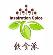 INSPIRATION SPICE IN ENGLISH ON TOP AND CHINESE ON BOTTOM OF DRAWING