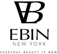 EB EBIN NEW YORK EVERYDAY BEAUTY IS NOW