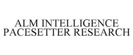 ALM INTELLIGENCE PACESETTER RESEARCH
