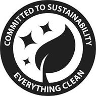 COMMITTED TO SUSTAINABILITY EVERYTHING CLEAN