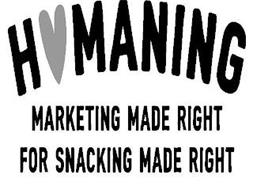 H MANINNG MARKETING MADE RIGHT FOR SNACKING MADE RIGHT