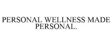 PERSONAL WELLNESS MADE PERSONAL.