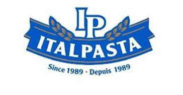IP ITALPASTA SINCE 1989 DEPUIS 1989