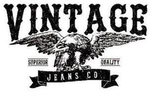 VINTAGE SUPERIOR QUALITY JEANS CO.