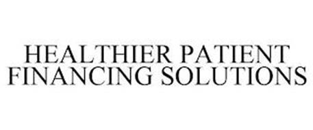 HEALTHIER PATIENT FINANCING SOLUTIONS