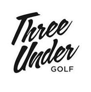 THREE UNDER GOLF