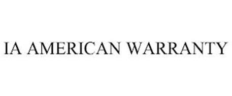 IA AMERICAN WARRANTY