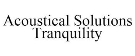 ACOUSTICAL SOLUTIONS TRANQUILITY