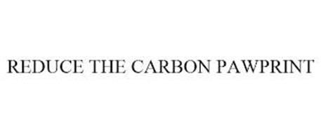 REDUCE THE CARBON PAWPRINT