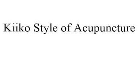 KIIKO STYLE OF ACUPUNCTURE