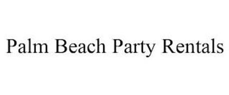 PALM BEACH PARTY RENTALS