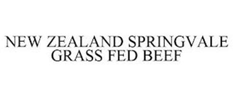 NEW ZEALAND SPRINGVALE GRASS FED BEEF
