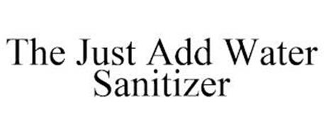 THE JUST ADD WATER SANITIZER