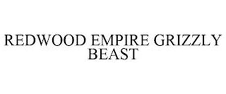 REDWOOD EMPIRE GRIZZLY BEAST